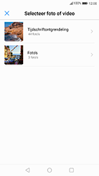 Huawei P10 - Android Oreo - MMS - Afbeeldingen verzenden - Stap 14