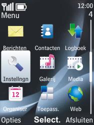 Nokia 6303 classic - internet - handmatig instellen - stap 3