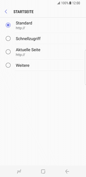 Samsung Galaxy S8 - Internet - Apn-Einstellungen - 2 / 2
