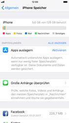 Apple iPhone 8 - Apps - Automatisches Entfernen nicht genutzter Apps aktivieren - 5 / 6