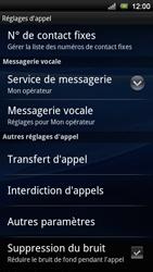 Sony Xperia Neo V - Messagerie vocale - Configuration manuelle - Étape 5