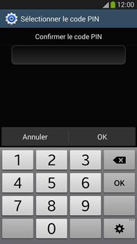 Samsung Galaxy Note 3 - Sécuriser votre mobile - Activer le code de verrouillage - Étape 11