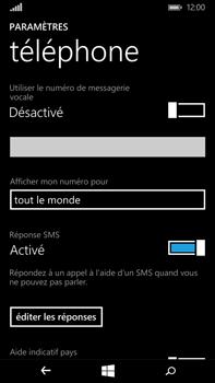 Microsoft Lumia 640 XL - Messagerie vocale - Configuration manuelle - Étape 9