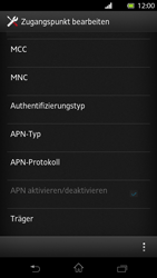 Sony Xperia T - MMS - Manuelle Konfiguration - Schritt 13