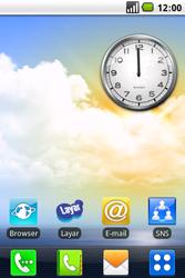 LG GW620 - Internet - automatisch instellen - Stap 1