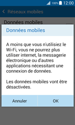 Samsung J100H Galaxy J1 - Internet - Désactiver les données mobiles - Étape 7