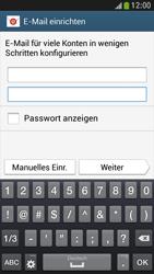 Samsung I9195 Galaxy S4 Mini LTE - E-Mail - Konto einrichten - Schritt 6