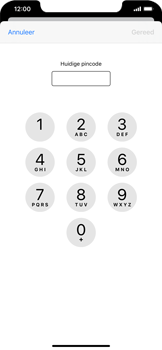 Apple iPhone XR - iOS 13 - Beveiliging - Stel de pincode voor je simkaart in - Stap 6