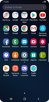 Samsung galaxy-s9-android-pie - sms - handmatig instellen - stap 3