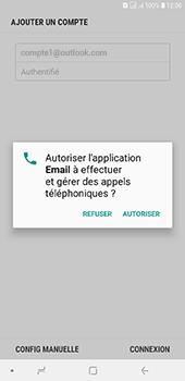 Samsung Galaxy J6 Plus - E-mails - Ajouter ou modifier votre compte Outlook - Étape 10