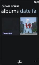 Nokia Lumia 900 - MMS - Sending pictures - Step 8