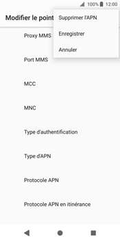 Sony Xperia XZ2 - MMS - Configuration manuelle - Étape 15