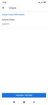 Xiaomi Mi Mix 3 5G - Operazioni iniziali - Come aggiungere una lingua alla tastiera - Fase 7