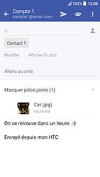 HTC U Play - E-mails - Envoyer un e-mail - Étape 17