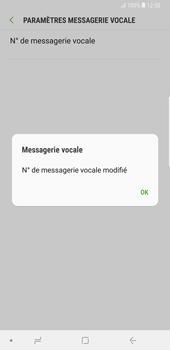 Samsung Galaxy Note9 - Messagerie vocale - Configuration manuelle - Étape 11