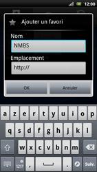 Sony Xperia Arc S - Internet - Navigation sur Internet - Étape 9
