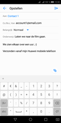Huawei Y5 (2018) - E-mail - e-mail versturen - Stap 8