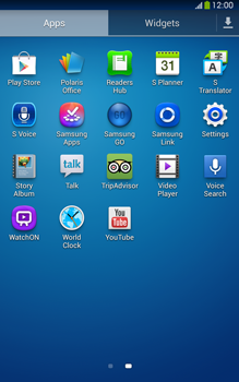 Samsung Galaxy Tab 3 8-0 LTE - Network - Manual network selection - Step 3