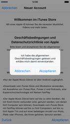 Apple iPhone 6s - Apps - Konto anlegen und einrichten - 0 / 0