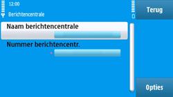 Nokia N97 - SMS - handmatig instellen - Stap 8