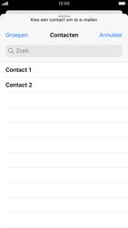 Apple iPhone SE (2020) (Model A2296) - E-mail - Hoe te versturen - Stap 5