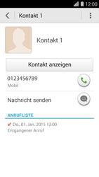 Huawei Ascend Y550 - Anrufe - Anrufe blockieren - Schritt 4
