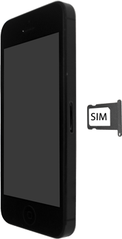 Apple iPhone SE - iOS 13 - Appareil - comment insérer une carte SIM - Étape 4