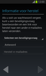 Samsung S7390 Galaxy Trend Lite - Applicaties - Account aanmaken - Stap 13
