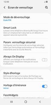 Samsung Galaxy S9 Android Pie - Sécurité - activéz le code PIN de l'appareil - Étape 13