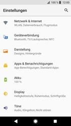 Sony Xperia XZ - Android Oreo - Netzwerk - Netzwerkeinstellungen ändern - Schritt 4