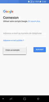 Samsung Galaxy A8 - Applications - Créer un compte - Étape 5