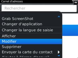 BlackBerry 9320 - Contact, Appels, SMS/MMS - Ajouter un contact - Étape 10