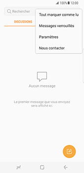 Samsung Galaxy S8 - SMS - configuration manuelle - Étape 5