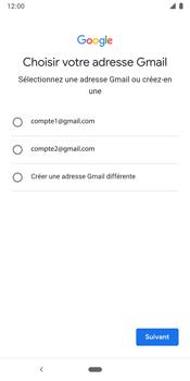 Google Pixel 3 - Applications - Créer un compte - Étape 10