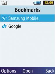 Samsung C3350 Xcover 2 - Internet - Internet browsing - Step 10
