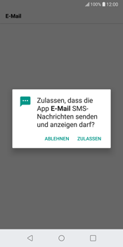 LG G6 - Android Oreo - E-Mail - Konto einrichten (outlook) - Schritt 12