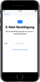 Apple iPhone 6 Plus - Apps - Konto anlegen und einrichten - 18 / 26