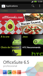 HTC One X - Applications - Configuration de votre store d
