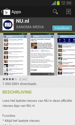 Samsung I9105P Galaxy S II Plus - apps - app store gebruiken - stap 7