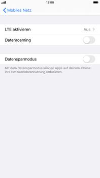 Apple iPhone 6s Plus - iOS 13 - Netzwerk - So aktivieren Sie eine 4G-Verbindung - Schritt 5