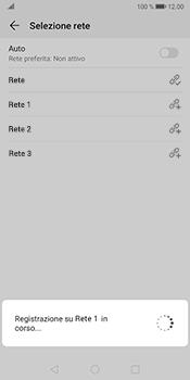 Huawei Mate 10 Pro - Android Pie - Rete - Selezione manuale della rete - Fase 10