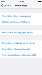 Apple iPhone 5 iOS 9 - Téléphone mobile - Réinitialisation de la configuration d