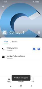 Alcatel 1S (2020) - Contact, Appels, SMS/MMS - Ajouter un contact - Étape 15