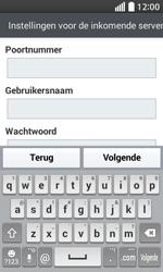 LG D320 L70 - e-mail - handmatig instellen - stap 11