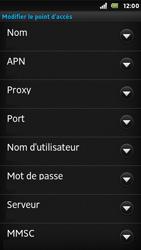 Sony ST25i Xperia U - Internet - Configuration manuelle - Étape 10