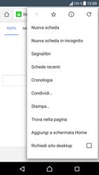 Sony Xperia XA - Internet e roaming dati - Uso di Internet - Fase 9