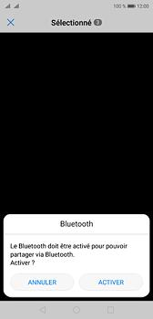 Huawei P20 - Photos, vidéos, musique - Envoyer une photo via Bluetooth - Étape 10