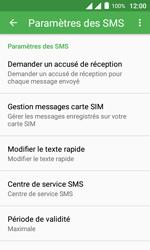 Alcatel Pixi 4 (4) - SMS - configuration manuelle - Étape 7
