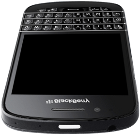 BlackBerry Q10 - Premiers pas - Découvrir les touches principales - Étape 3