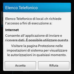BlackBerry Q10 - Applicazioni - Installazione delle applicazioni - Fase 8